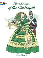 Cover of: Fashions of the Old South Coloring Book
