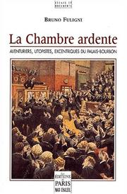 Cover of: La chambre ardente