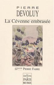 Cover of: La cevenne embrasee