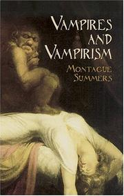 Cover of: Vampires and Vampirism | Montague Summers
