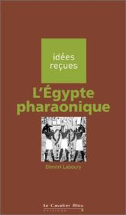 Cover of: L'Egypte pharaonique