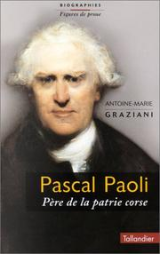 Cover of: Pascal Paoli