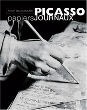 Cover of: Picasso, papiers journaux