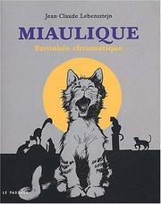 Cover of: Miaulique