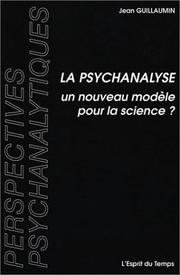 Cover of: La psychanalyse