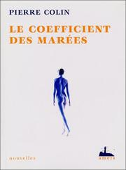 Cover of: Le Coefficient des marées