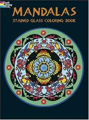 Cover of: Mandalas Stained Glass Coloring Book