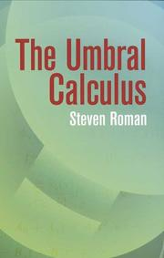 Cover of: The Umbral Calculus