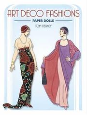 Cover of: Art Deco Fashions Paper Dolls