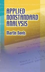 Cover of: Applied Nonstandard Analysis