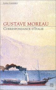 Cover of: Correspondance d'Italie