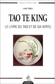 Cover of: Tao Te King