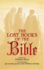 Cover of: The lost books of the Bible