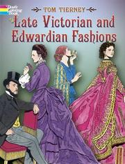 Cover of: Late Victorian and Edwardian Fashions
