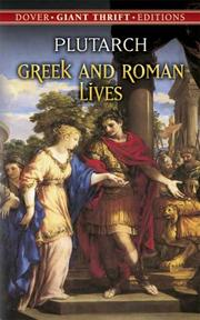 Cover of: Greek and Roman lives