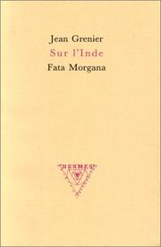 Cover of: Sur l'Inde