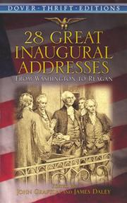 Cover of: 28 great inaugural addresses