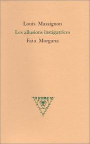 Cover of: Les Allusions instigatrices