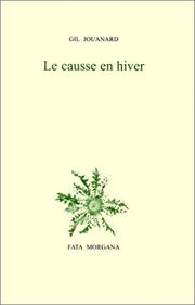 Cover of: Le Causse en hiver