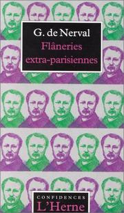 Cover of: Flâneries extra-parisiennes