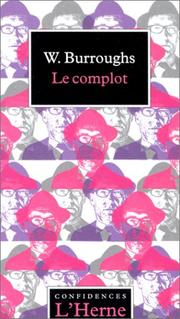 Cover of: Le Complot