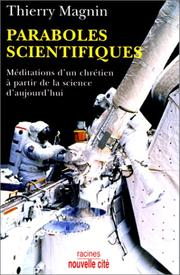 Cover of: Paraboles scientifiques