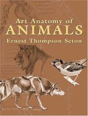 Cover of: Art anatomy of animals