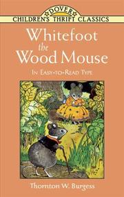 Cover of: Whitefoot the Wood Mouse