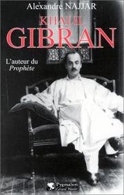 Cover of: Khalil Gibran
