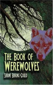 Cover of: The book of were-wolves