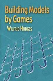 Cover of: Building models by games