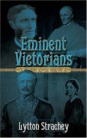 Cover of: Eminent Victorians