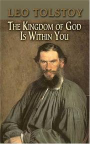 Cover of: The Kingdom of God Is Within You