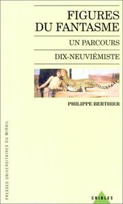 Cover of: Figures du fantasme