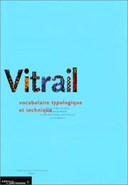 Cover of: Le Vitrail