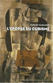 Cover of: Epopée du cubisme