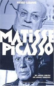Cover of: Matisse et picasso