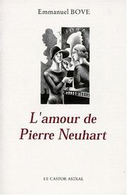 Cover of: L' amour de Pierre Neuhart