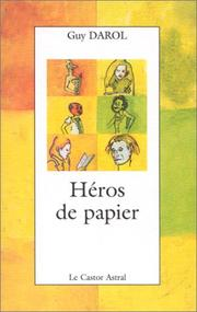 Cover of: Héros de papier