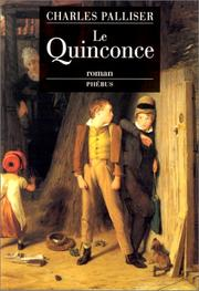 Cover of: Le quinconce