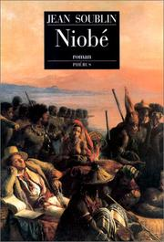 Cover of: Niobé