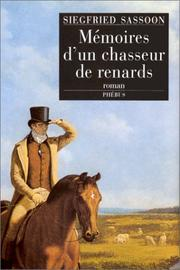 Cover of: Mémoires d'un chasseur de renards