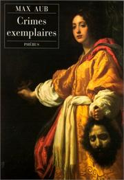 Cover of: Crimes exemplaires