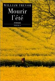 Cover of: Mourir l'été