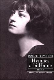 Cover of: Hymnes à la haine