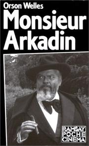 Cover of: Monsieur Arkadin