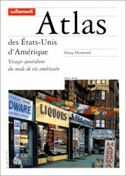 Cover of: Atlas des Etats-Unis d'Amérique