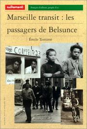 Cover of: Marseille transit
