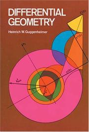 Cover of: Differential geometry