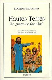 Cover of: Hautes terres